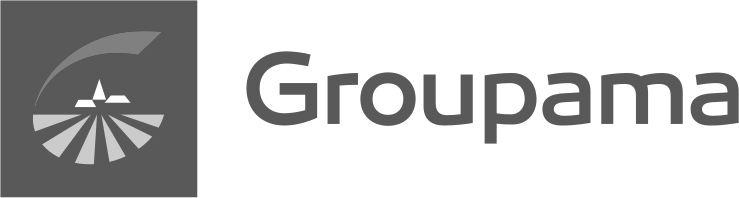 Groupama FB logo. NetB